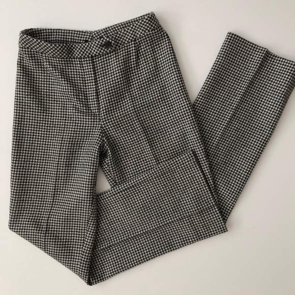 e67ca84bc9c1 Akris Punto Pants - AKRIS Houndstooth Wool Dress Pants